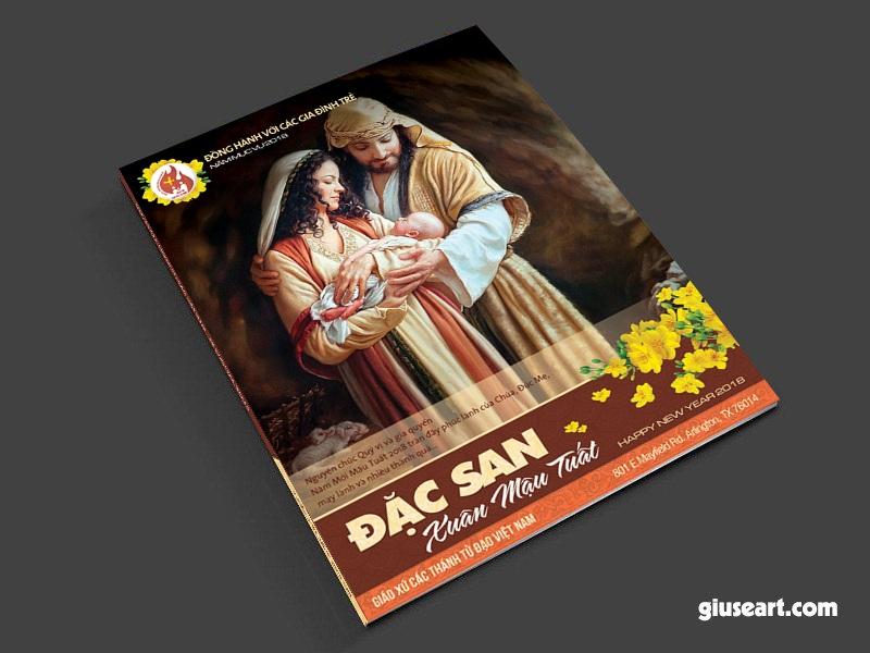 Bìa Tập san Công giáo - Xuân Mậu Tuất 2018 - 3