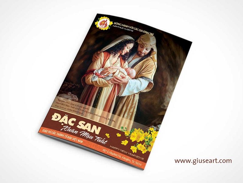 Bìa Tập san Công giáo - Xuân Mậu Tuất 2018 - 5