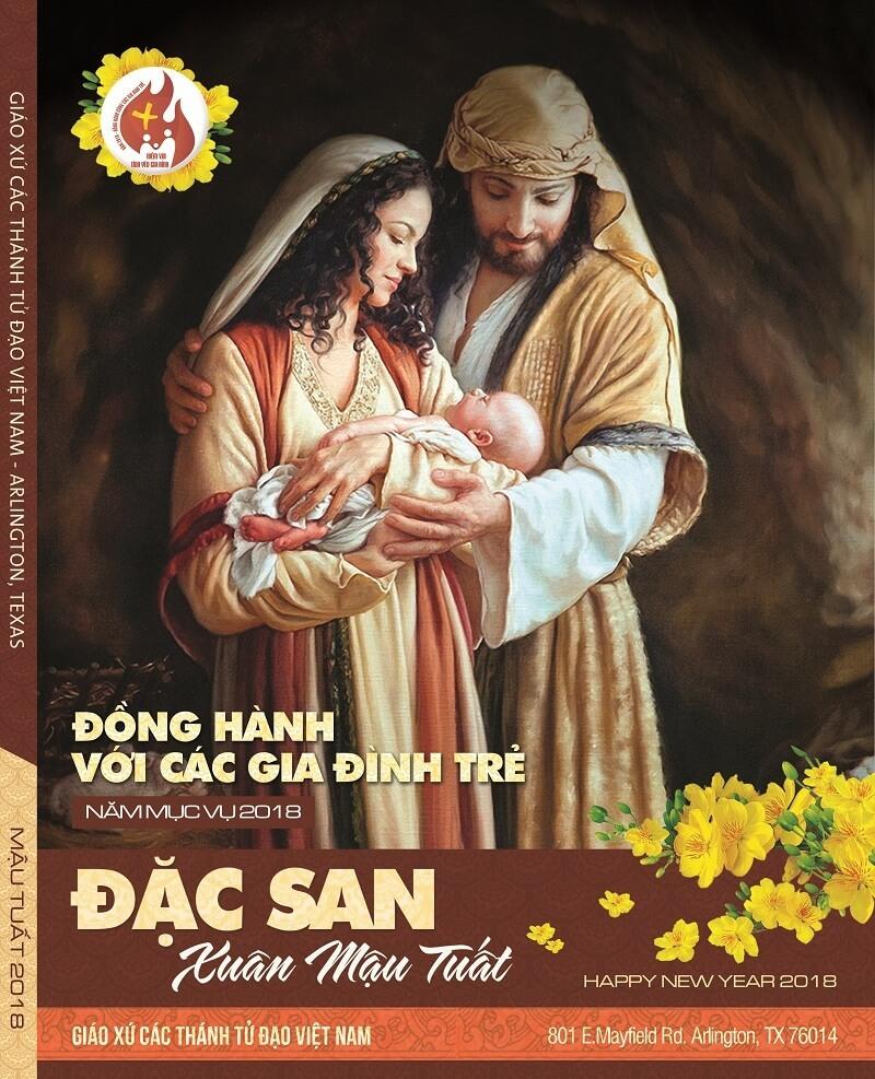 Bìa Tập san Công giáo - Xuân Mậu Tuất 2018 - 6