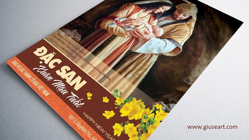 Bìa Tập san Công giáo - Xuân Mậu Tuất 2018