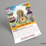 Thiết kế Lịch Công giáo treo tường - Chúc Mừng Năm Mới 14