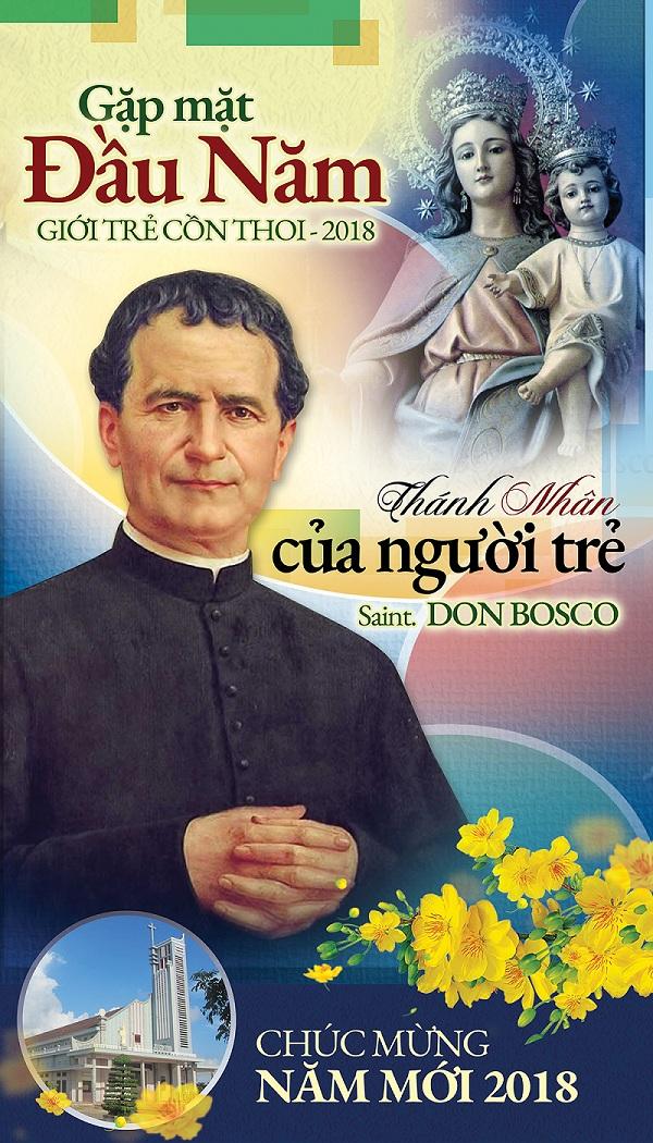 Giuseart.com - Phông sân khấu Bổn mạng Giới trẻ - Don-Bosco