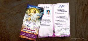 Giuseart.com - Thiệp mời Công giáo - Thiệp mời lễ giỗ