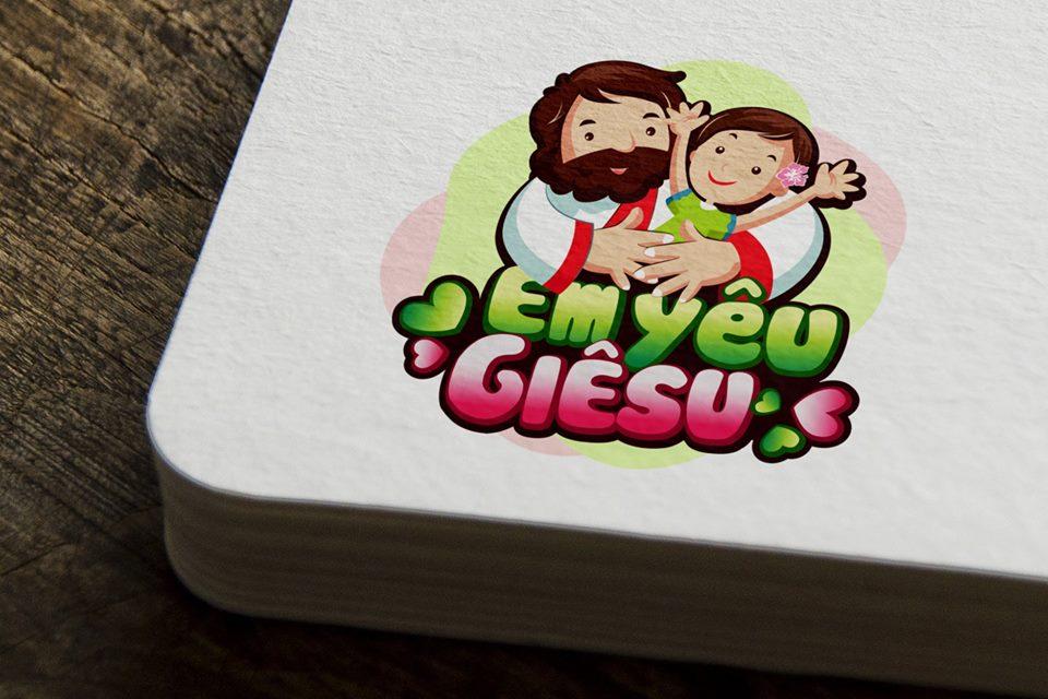 Giuseart.com - Logo Công giáo - Em yêu Giêsu