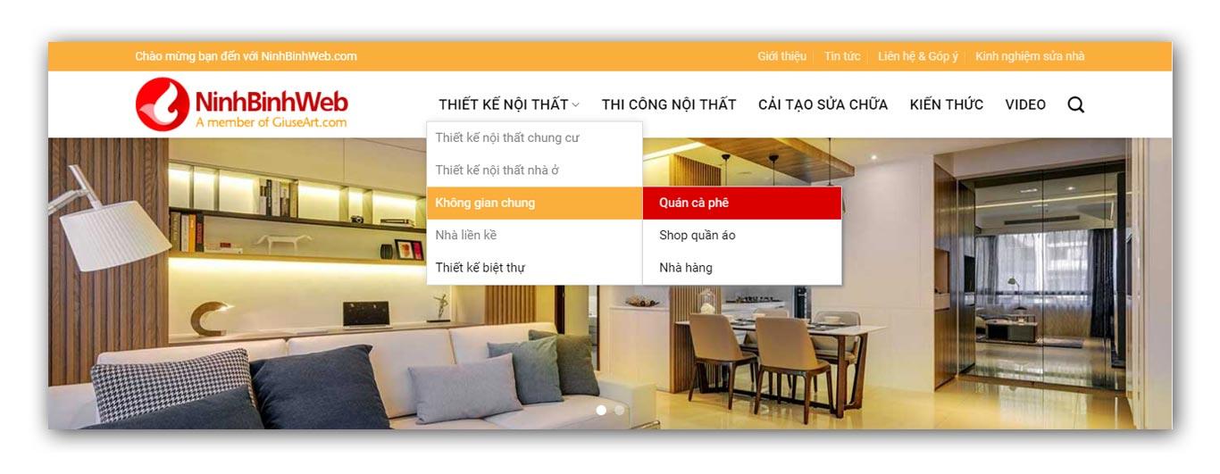 Giuseart.com - Sửa CSS menu đa cấp trên theme Flatsome