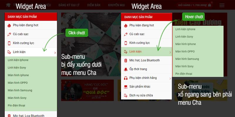 Giuseart.com---Tạo-menu-xổ-ngang-trong-Widget-Area