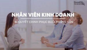 Giuseart.com - Bí quyết giúp bạn có được buổi phỏng vấn nhân viên kinh doanh thành công