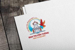Giuseart.com - Thiết kế logo công giáo Ban truyền thông Đại Điền 3