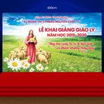 Giuseart.com-Phông-sân-khấu-Khai-giảng-giáo-lý