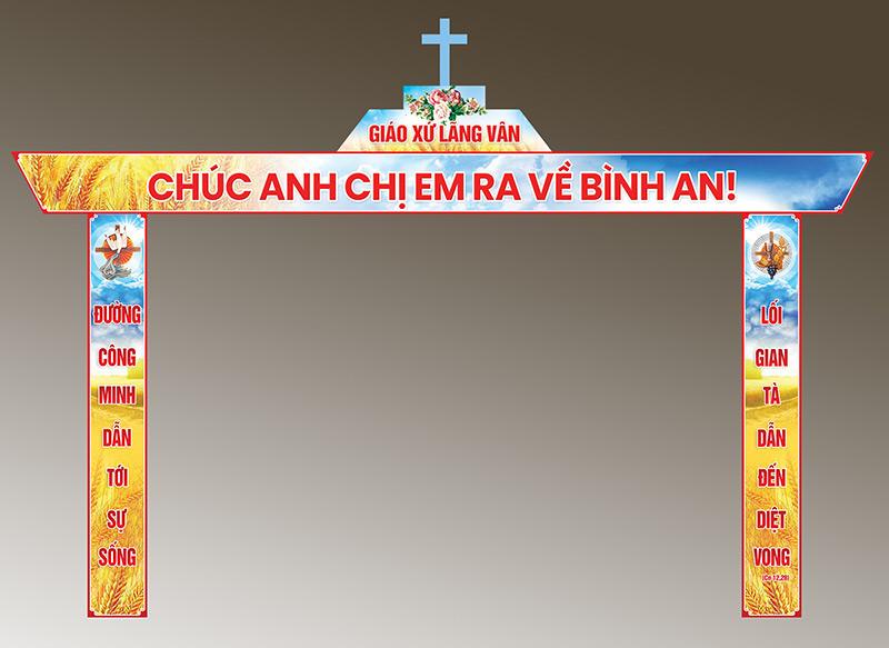 Cổng-chào-Giáo-xứ-Lãng-Vân
