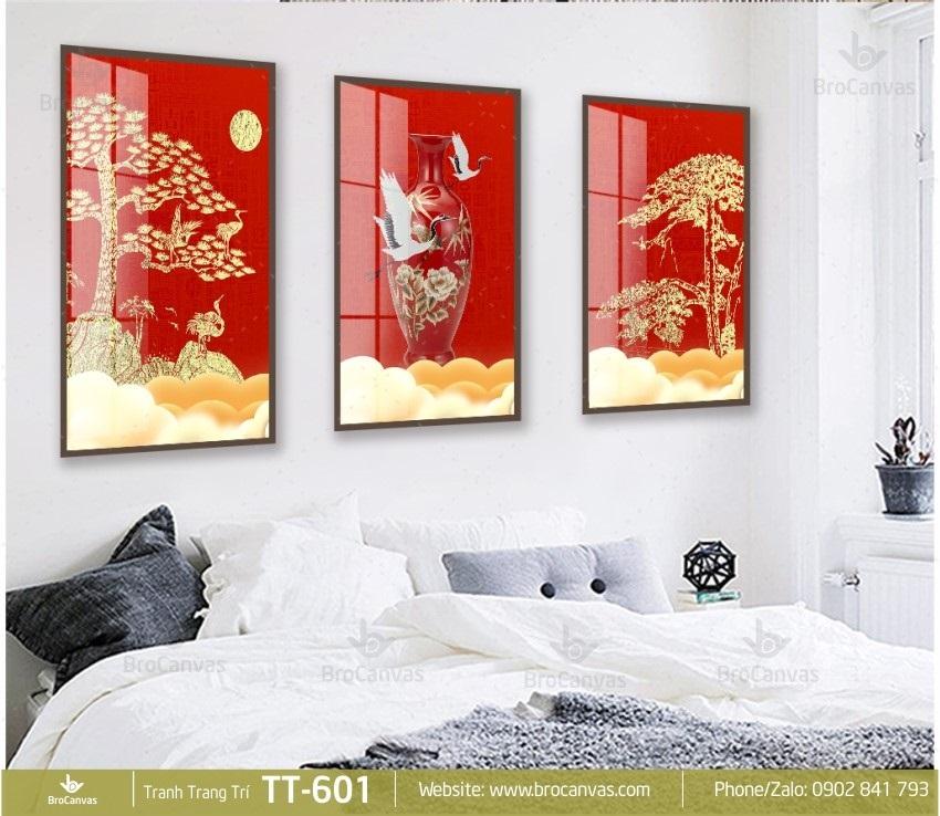 Giuseart.com - Tranh canvas đẹp trong phòng ngủ