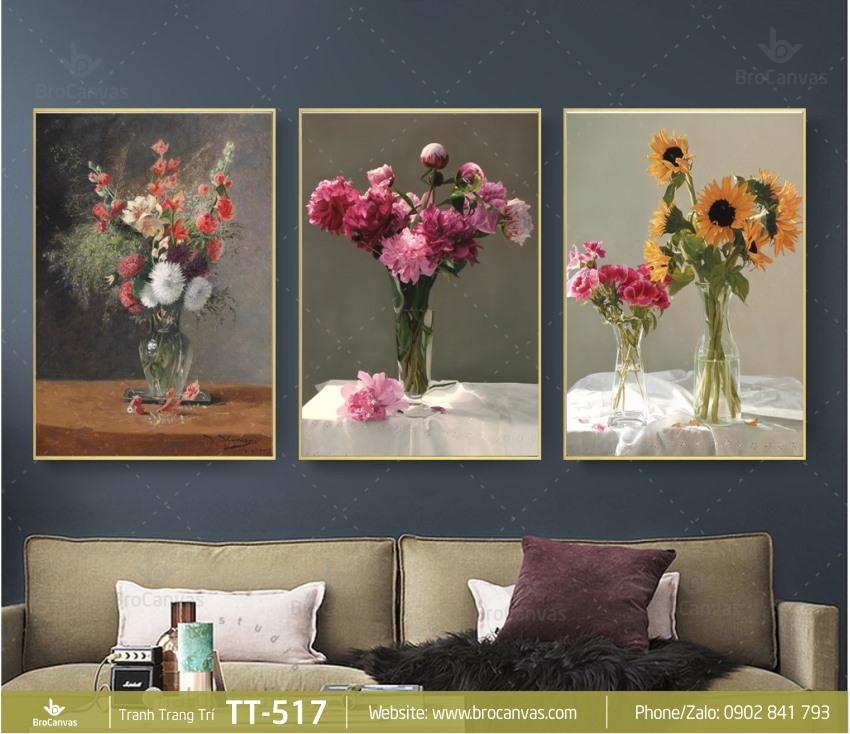 Giuseart.com - Tranh canvas trang trí đẹp cho phòng khách