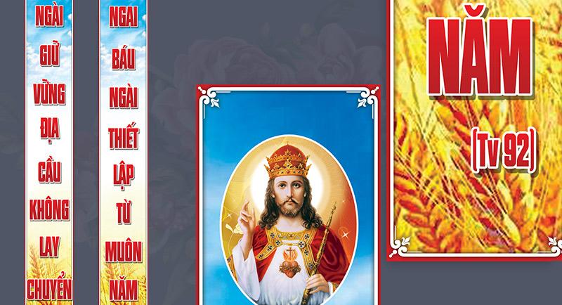 Giuseart.com---Câu-đối-trang-trí-Lễ-Chúa-Kitô-vua