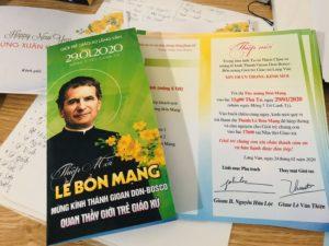 Giuseart.com - Thiết kế thiệp mời bổn mạng Gioan Don Bosco