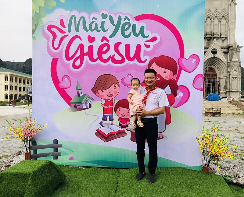 Giuseart.com - Backdrop chụp ảnh ngày lễ Bổn Mạng