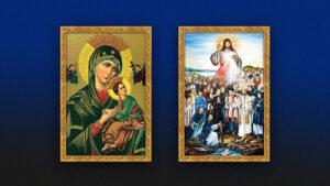Giuseart.com - Khung ảnh Đức mẹ hằng cứu giúp