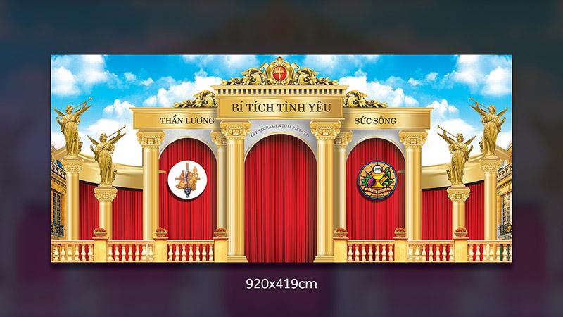 Giuseart.com - Demo mẫu nhà tạm Thánh Thể